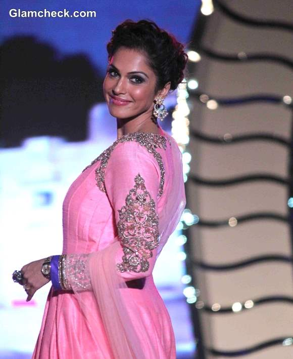 Isha Koppikar 2014 Save and Empower Girl Child Event by Walking the Ramp