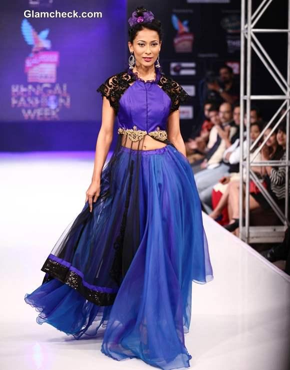 Jaya Mishras Gaja Gamini Collection at Kingfisher Ultra Bengal Fashion Week 2014