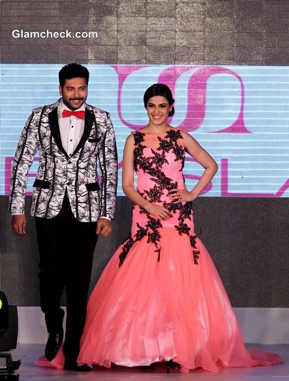 Jayam Ravi and Genelia DSouza Walk the Ramp at Silk Mark Bridal Extravaganza 2014