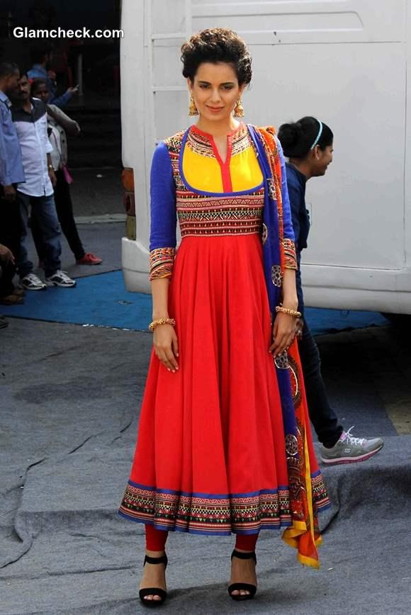 Kangana Ranaut in Manish Arora Anarkali
