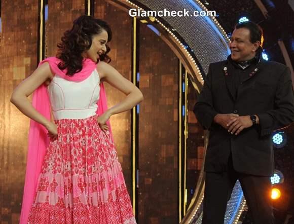 Kangana Ranaut on Dance India Dance 4