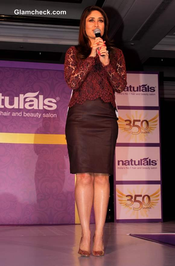 Kareena Kapoor 2014 Naturals Salon Ambassador