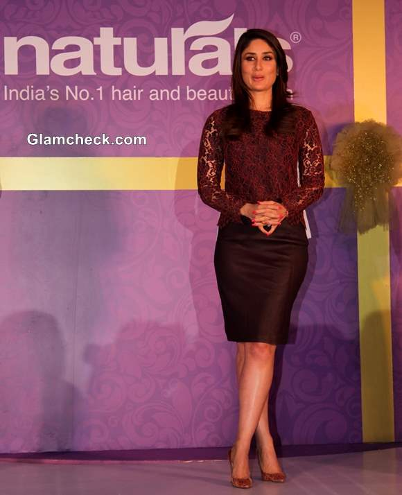 Kareena Kapoor 2014 Naturals Salon Brand Ambassador