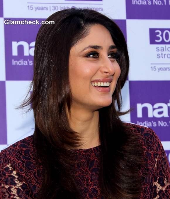 Kareena Kapoor 2014 as Naturals Salon Brand Ambassador