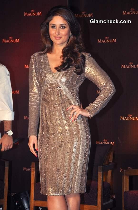 Kareena Kapoor 2014 in sequinned dress