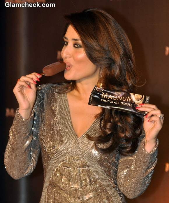 Kareena Kapoor Launches Magnum Ice Cream in Mumbai
