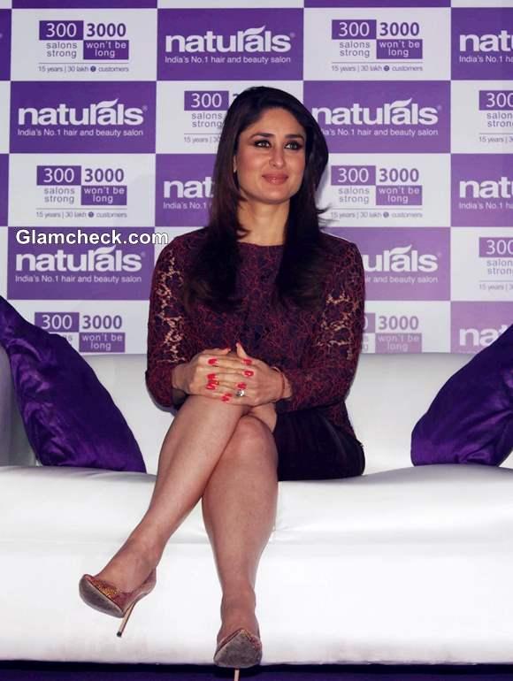 Kareena Kapoor Replaces Genelia DSouza as Naturals Salon Ambassador