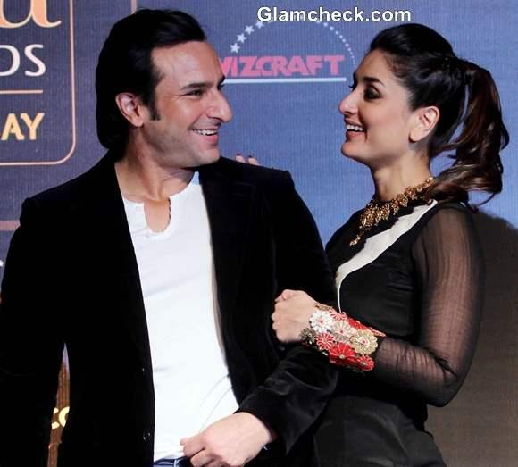 Kareena Kapoor and Saif Ali Khan 2014 IIFA