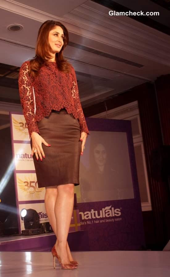 Kareena Kapoor as Naturals Salon Ambassador