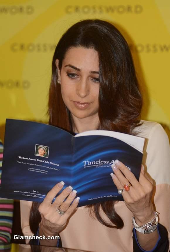 Karisma Kapoor Unveils Timeless Austen Book in Mumbai