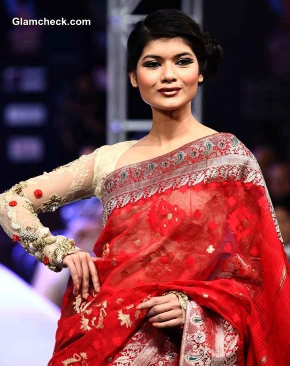 Kingfisher Ultra Bengal Fashion Week 2014 Agnimitra Paul Collection pics