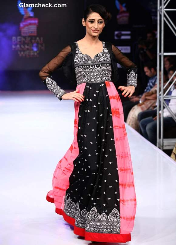 Kingfisher Ultra Bengal Fashion Week 2014 Agnimitra Paul Collection