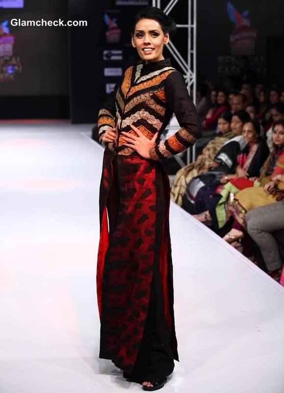 Kingfisher Ultra Bengal Fashion Week 2014 Agnimitra Paul show