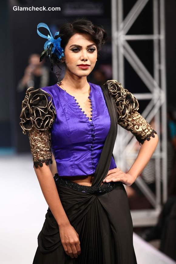 Kingfisher Ultra Bengal Fashion Week 2014 Jaya Mishra Show