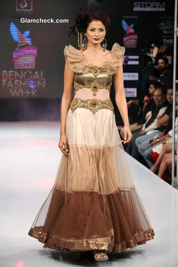Kingfisher Ultra Bengal Fashion Week 2014 Jaya Mishras Collection