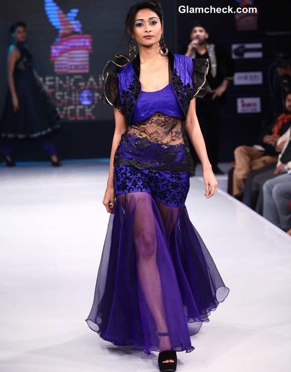 Kingfisher Ultra Bengal Fashion Week 2014 Jaya Mishras Gaja Gamini Collection
