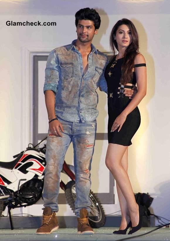 Kushal Tandon with Gauhar Khan Fear Factor - Khatron Ke Khiladi Season 5