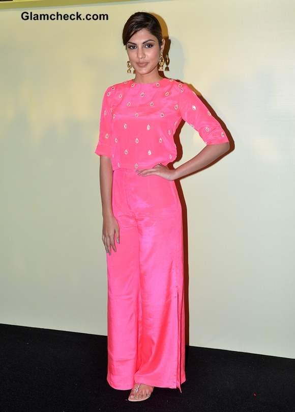 Lakme Fashion Week Summer-Resort 2014 Press Meet Rhea Chakraborty