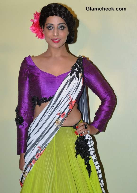 Mahi Gill 2014 Lakme Fashion Week Summer-Resort 2014 Press Meet