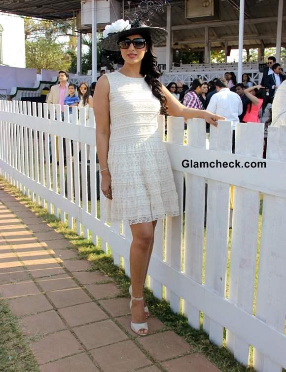 Mahi Gill at the Provogue AGP Race Day at Mahalaxmi Race Course in Mumbai