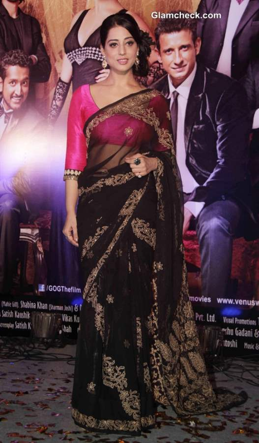 Mahie Gill 2014 at Gang of Ghosts Music Launch
