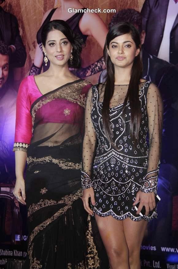 Mahie Gill and Meera Chopra
