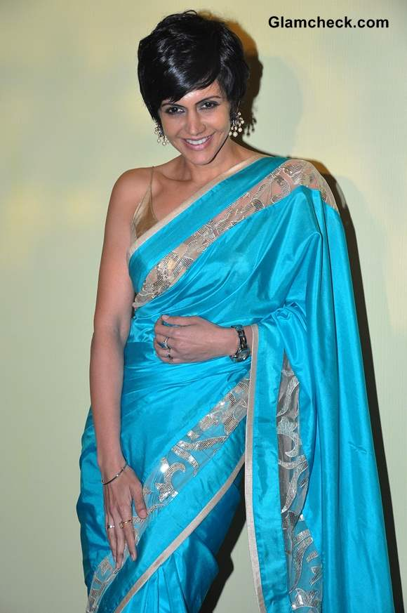 Mandira Bedi at Lakme Fashion Week Summer-Resort 2014 Press Meet