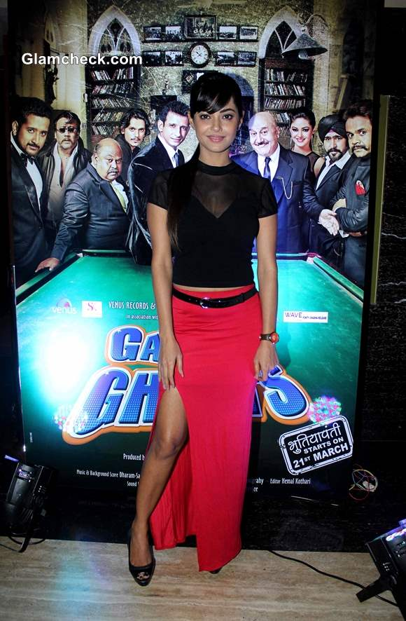 Meera Chopra at Gang of Ghosts Trailer Launch