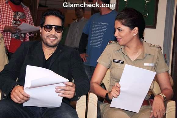 Mika Singh on FIR Television Serial