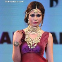 Miss Asia Pacific World 2013 Srishti Rana at Azva Jewellery Fashion Show 2014