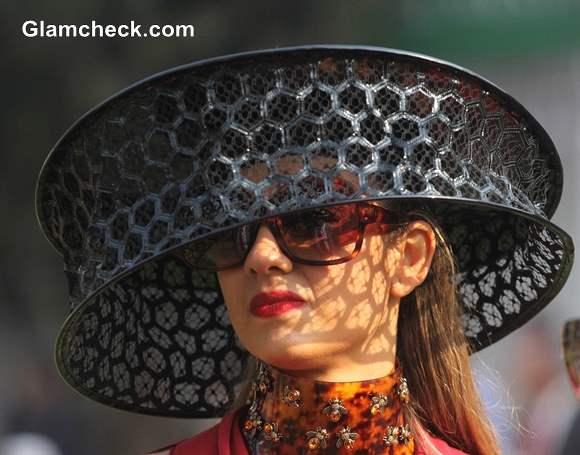 Natasha Poonawala at McDowell Signature Premier Indian Derby 2014