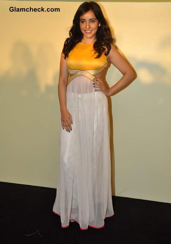 Neha Sharma 2014 Lakme Fashion Week Summer-Resort 2014 Press Meet