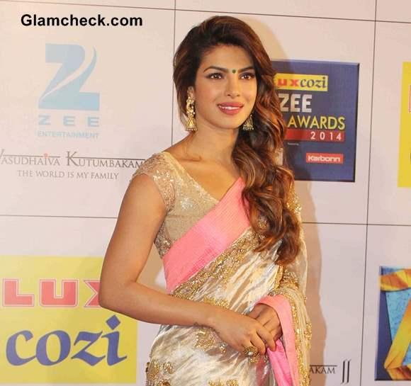 Priyanka Chopra 2014 in Saree