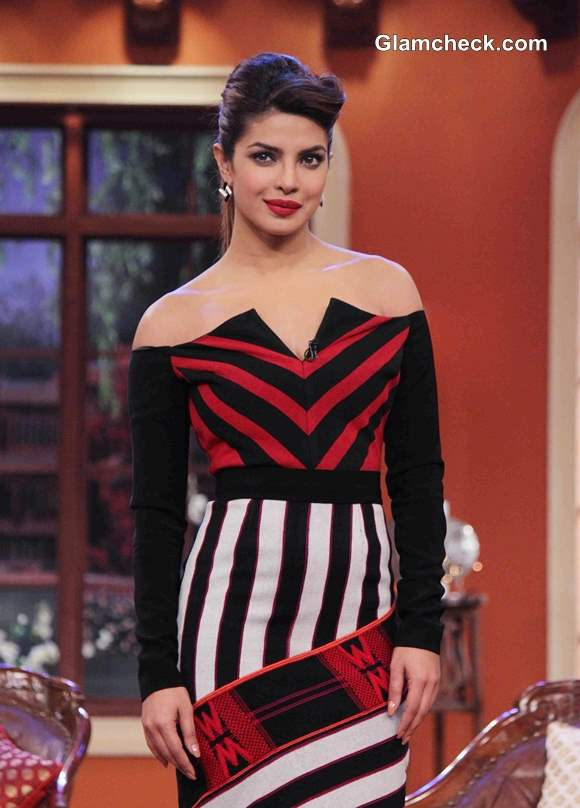 Priyanka Chopra 2014 on Comedy Nights with Kapil