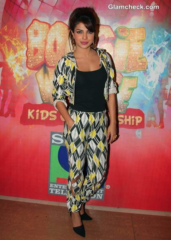 Priyanka Chopra Style 2014 at Gunday Promotions