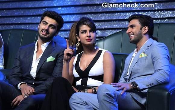 Priyanka Ranveer Arjun Promote Gunday on DID