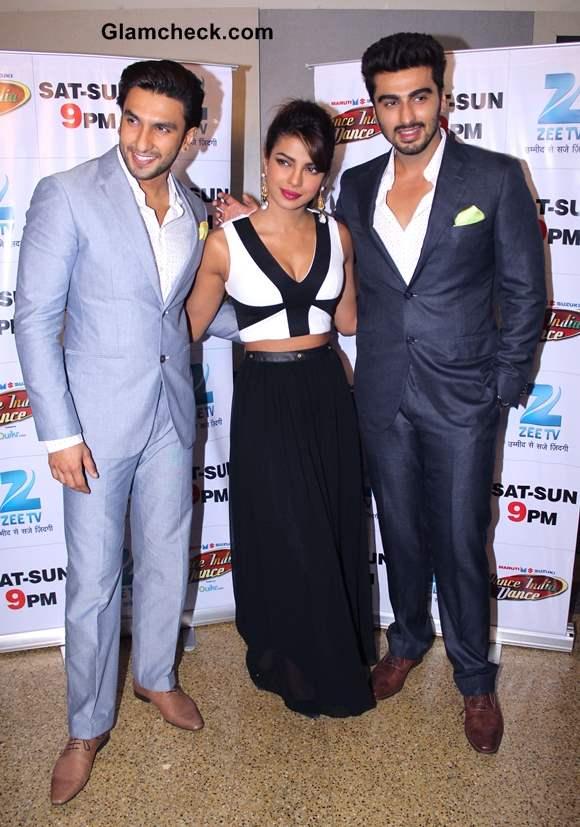 Priyanka Ranveer and Arjun Promote Gunday on DID