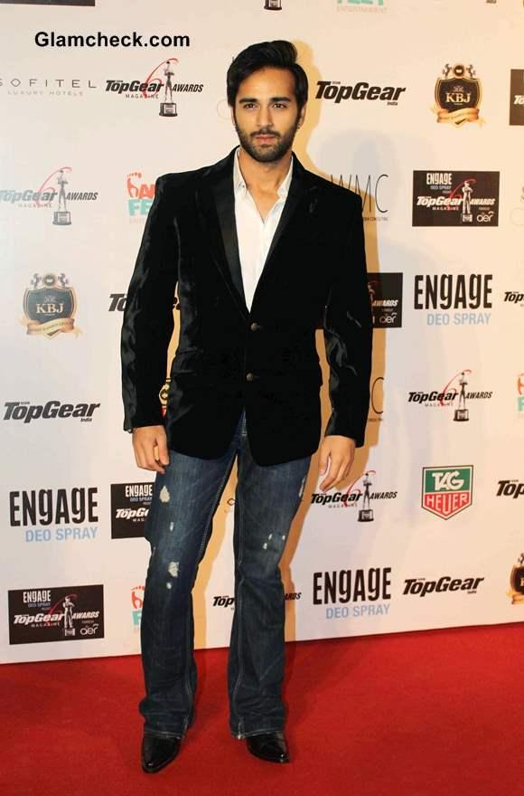 Pulkit Samrat 2014 at the 6th BBC Top Gear Awards