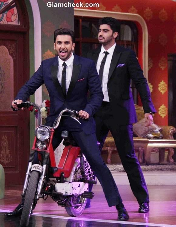 Ranveer Singh and Arjun Kapoor on Comdey Nights with Kapil