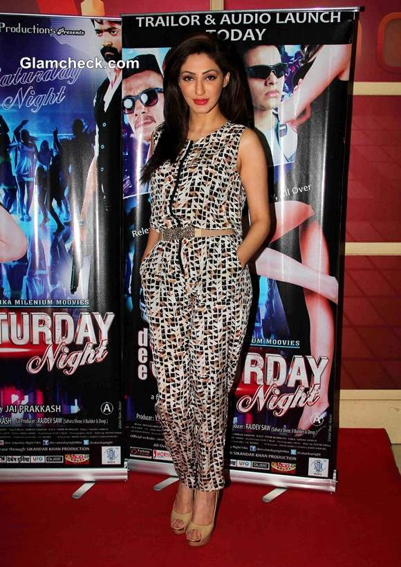 Reyhna Malhotra 2014 at Dee Saturday Night Trailer