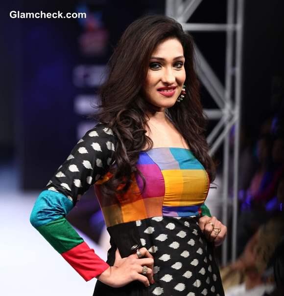 Rituparna Sengupta for at Kingfisher Ultra Bengal Fashion Week 2014