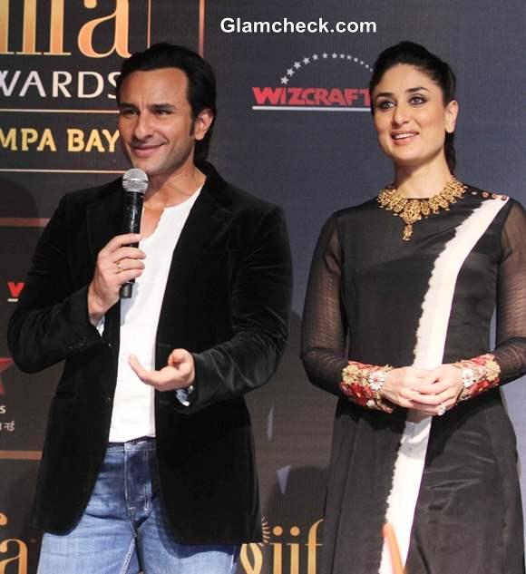 Saif Ali Khan and Kareena Kapoor 2014 IIFA