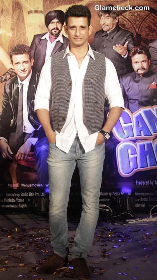 Sharman Joshi 2014 at Gang of Ghosts Music Launch