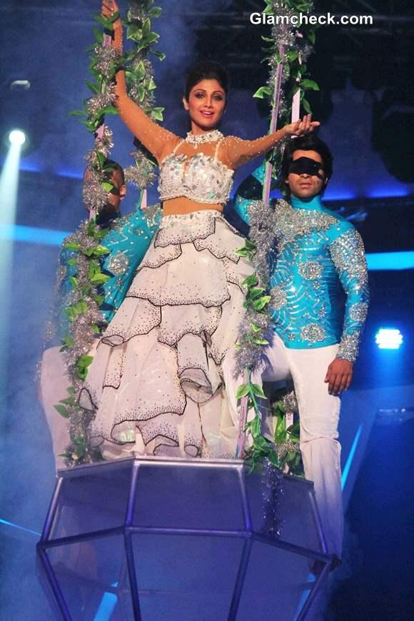 Shilpa Shetty 2014 pics Nach Baliye 6 Grand Finale