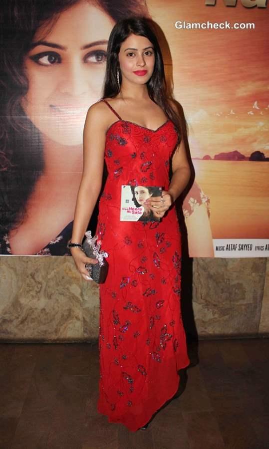 Shobhita at Naa Heere Nu Sata Music Launch