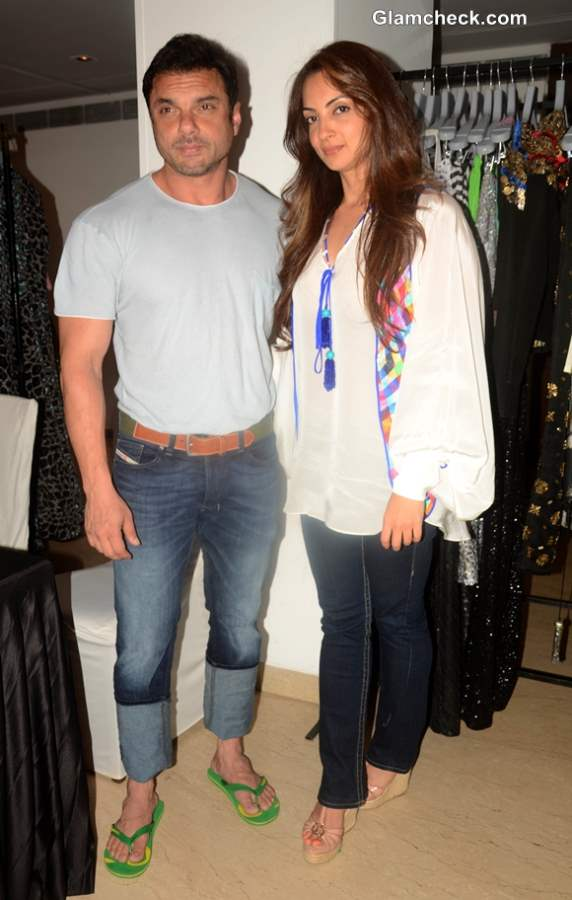 Sohail Khan along with his wife Seema