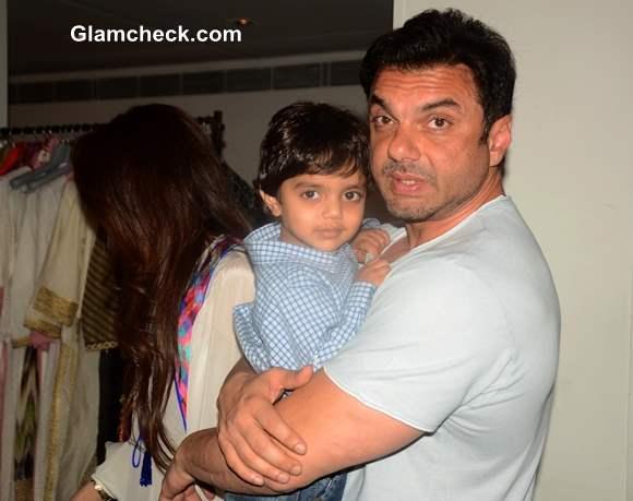 Sohail Khan along with son Yohan
