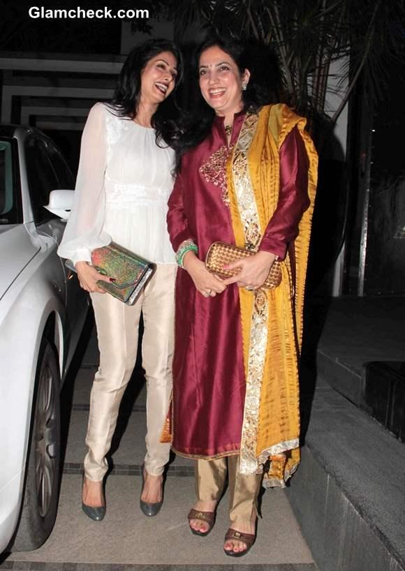 Sridevi and Rashmi Thackeray