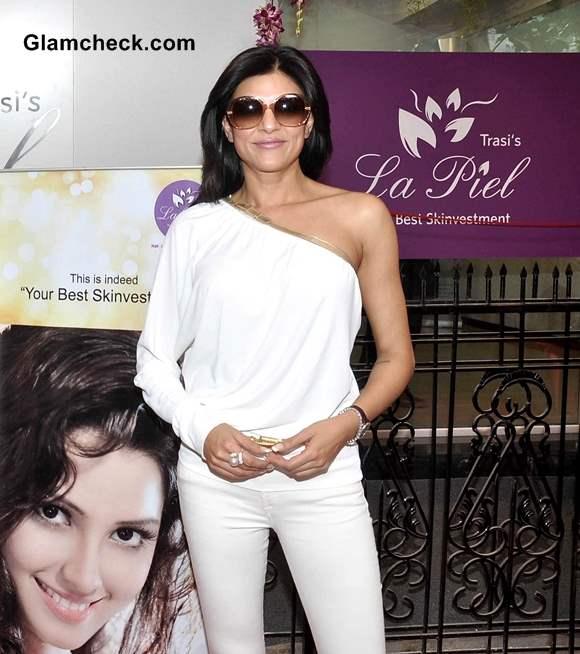 Sushmita Sen 2014 at La Piel Skin Clinic Launch