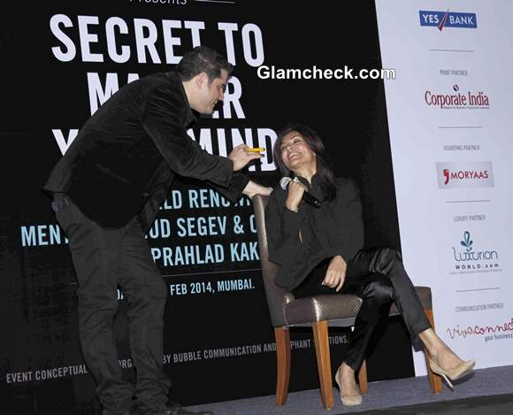 Sushmita Sen Goes Mental with Ehud Segev